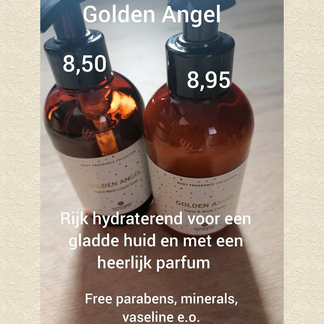 Golden Angel Handzeep en Hand-Bodylotion foto